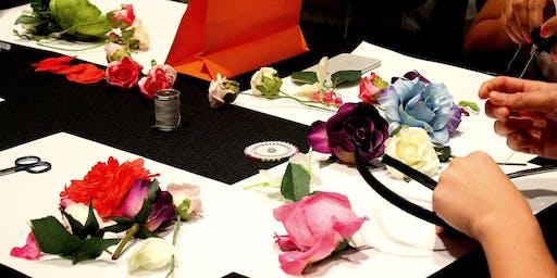 DIY Floral Fascinator
