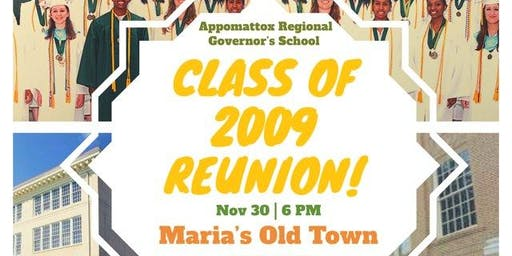 ARGS Class of 2009 10 Year Reunion!