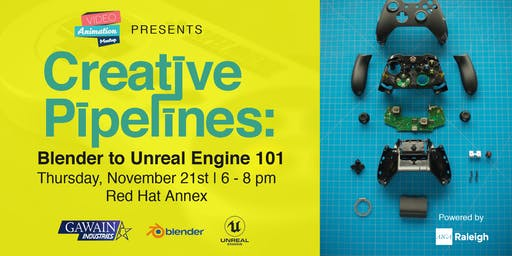 Creative Pipelines: Blender to Unreal Engine 101