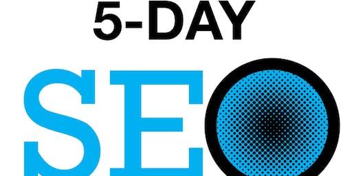 2, 3 or 5 Day SEO Class Tampa Florida - September 14-18, 2020