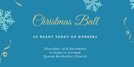Ready Teddy Go Christmas Ball tickets