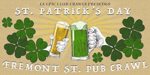 2020 Fremont Street St Patrick's Day Pub Crawl