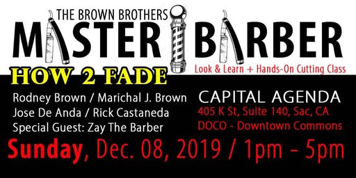 Master Barber How 2 Fade - Look and Learn / Hands-on