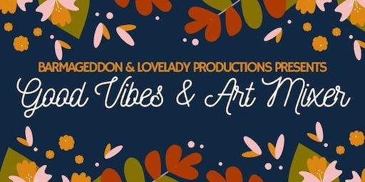 Good Vibes & Art Mixer: Friendsgiving Potluck at Barmageddon