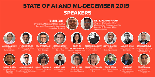 State of AI and ML-December 2019