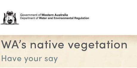 Workshop in Kalgoorlie on four initiatives for WA's Native Vegetation tickets