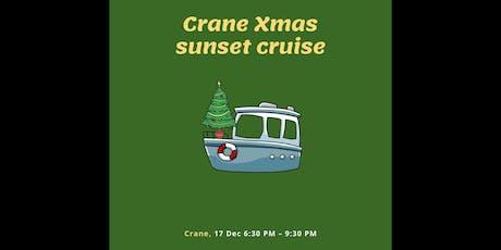 Crane Christmas Sunset Cruise tickets