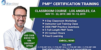 PMP® Certification Training Course Los Angeles, CA | iCert Global