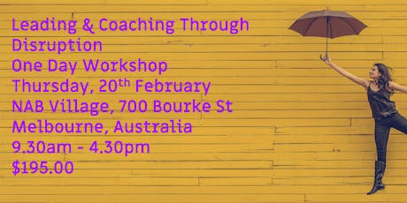 LEADING AND COACHING THROUGH DISRUPTION tickets