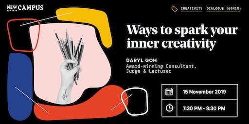 Ways to spark your inner creativity