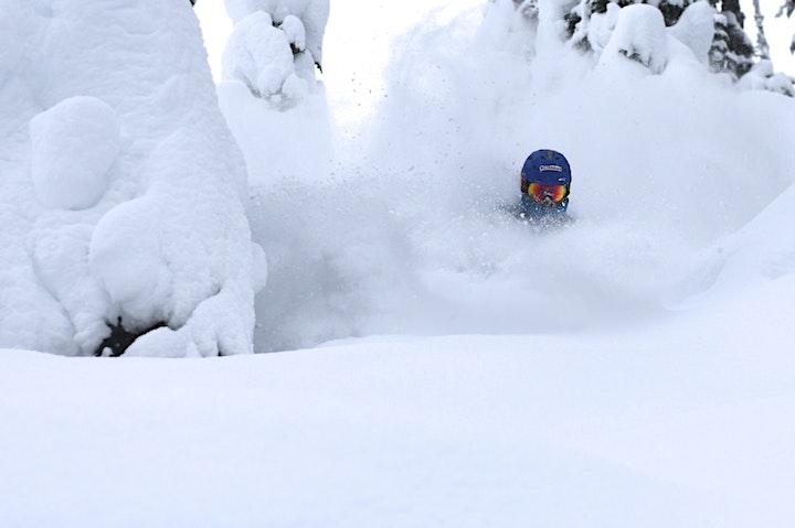 "Campbell, CA SKI/RIDE SEASON KICKOFF PIZZA SOCIAL + Ski Movie ""TIMELESS"" image"