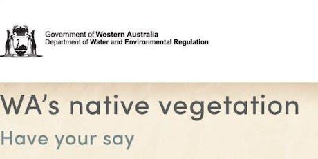 Workshop in Bunbury on four initiatives for WA's Native Vegetation tickets