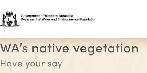 Workshop in Bunbury on four initiatives for WA's Native Vegetation