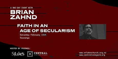 Brian Zahnd - Faith in an Age of Secularism tickets