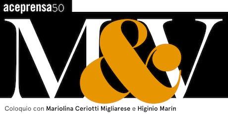 Mujer y Varón. Coloquio entre Mariolina Ceriotti e Higinio Marín entradas