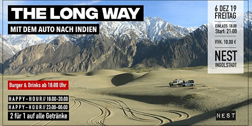 The long way - Mit dem Auto nach Indien (Burger & Drinks)