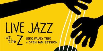 Live Jazz with Jeko Fauzy **** + open jam session