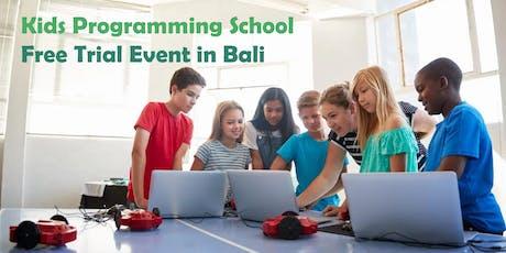 Kids Programming - Free Trial in Bali enpasar tickets