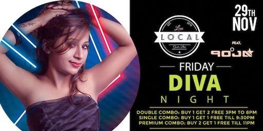 Friday Diva Night - DJ POOJA