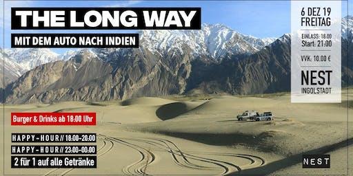 The long way - Mit dem Auto nach Indien (Music, Burger & Drinks)