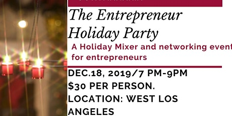 The Entrepreneur Holiday Party tickets