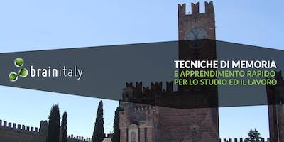 Villafranca di Verona: Corso gratuito di memoria