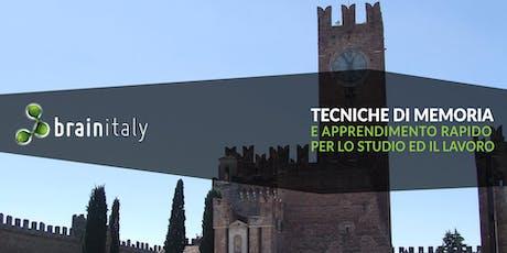 Villafranca di Verona: Corso gratuito di memoria biglietti