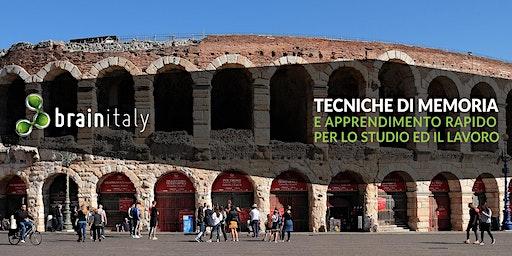 Verona: Corso gratuito di memoria