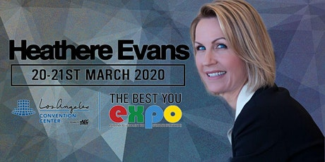 Heathere Evans at The Best You EXPO 2020, Los Angeles tickets