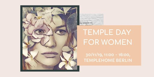 TempleDay for Women & Emotional Release Healing Workshop