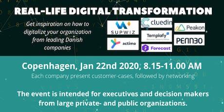 Real-life Digital Transformation biljetter