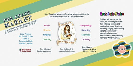 Award-winning Storytime with Anna-Christina at The Chase Market