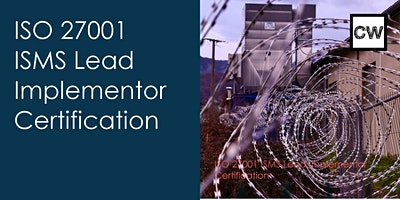 ISO 27001 ISMS Lead Implementor Certification