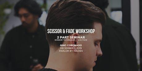 Scissor & Fade Workshop tickets