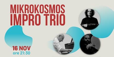 Mikrokosmos | Piano-Sax-Percussioni biglietti
