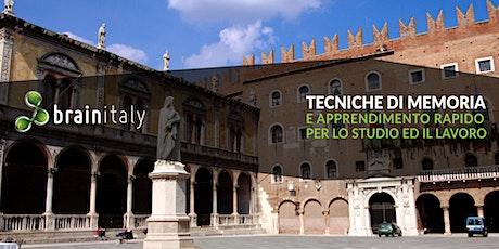 Verona: Corso gratuito di memoria biglietti