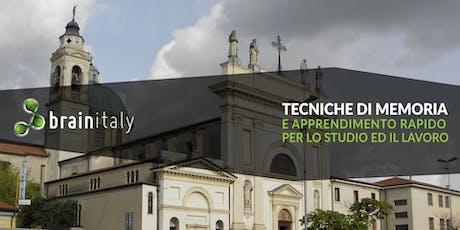 San Giovanni Lupatoto: Corso gratuito di memoria biglietti