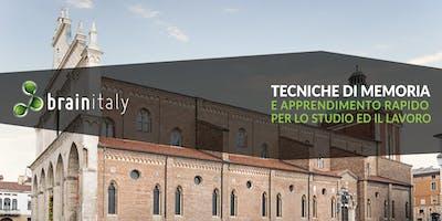 Vicenza: Corso gratuito di memoria