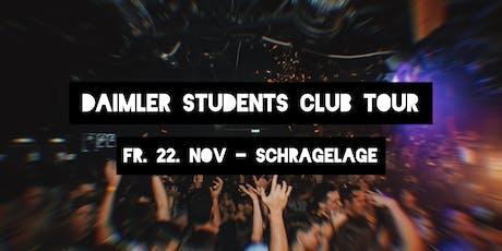Daimler Students Club Tour 1.0 Tickets