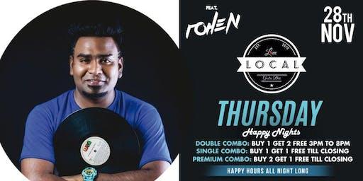 Thursday Happy Nights - DJ ROHEN