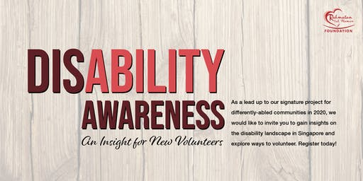 Disability Awareness Talk