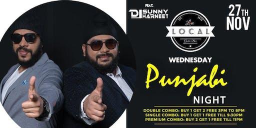 Wednesday Punjabi Bollywood Night