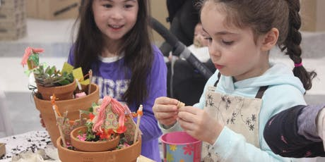 Make a Fairy or Dinosaur Garden tickets