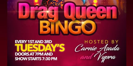 Drag Queen Bingo at Jackpot!