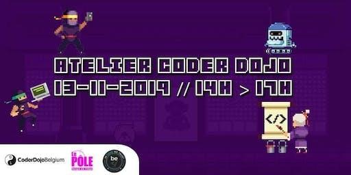 [CoderDojo] BeCode Liège - 13/11/2019