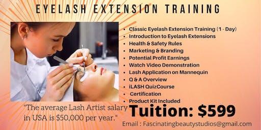 Eyelash Extension Training & Certificate