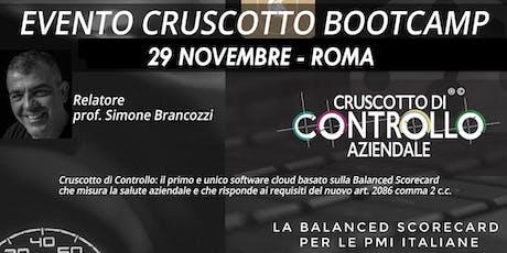 BOOTCAMP CRUSCOTTO DI CONTROLLO, Roma, 29 novembre biglietti