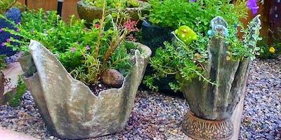 Concrete Garden Crafts