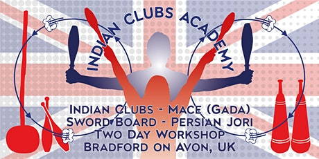 A Unique 2-day INDIAN CLUBS ACADEMY Workshop tickets
