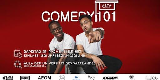 Asta presents Comedy101 #2